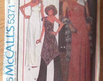 Vintage McCalls 5371 Misses' Dress, Tunic Top and Pants. Petite.