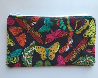 Essential Oil Bag, Zipper Snack Bag, Reusable Snack Bag,  - Butterfly