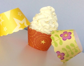 Summer Cupcake Wrappers SALE