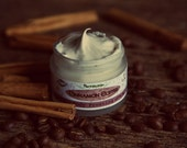 Cinnamon Coffee Body Frosting - Organic Whipped Butter - Vegan Lotion.With Shea butter and Coconut oil