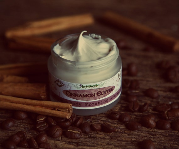 Cinnamon Coffee Body Frosting - Organic Whipped Butter - Vegan Lotion ...