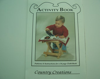 ACTIVITY BOOK  Pattern  -  6.00