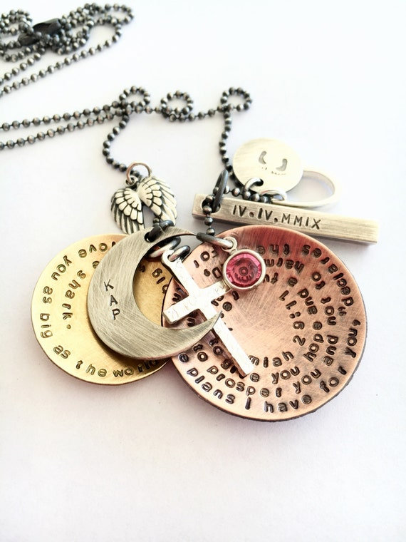 personalized jewelry mothers day necklace sted