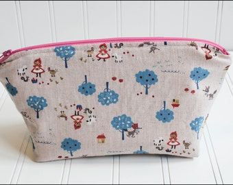 Little Red Riding Hood Cosmetic Bag