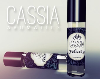 Fresh Bubbly Spicy Ginger Perfume Felicity Explosion of Spicy Citrus Freshness