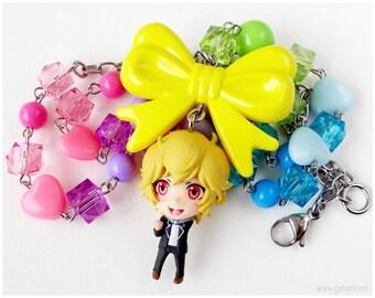 Yumoto Hakone Figure Necklace, Cute High Earth Defense Club, Colorful Chain, Decora, Harajuku, Anime Fashion