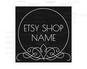 Shop Logo - Etsy Branding - Etsy Store Branding - Shop Icon - Etsy Shop Icon - Calligraphy Logo Style 3