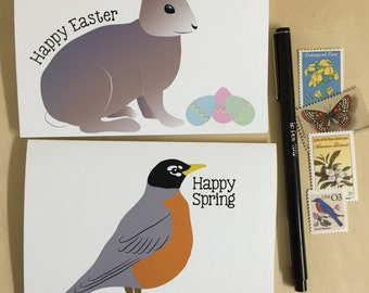 Happy Easter - Happy Spring Notecards