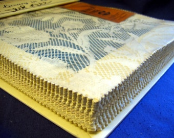 """Quaker Lace Sample/Swatch Pattern Book - """"Luxury in Lace"""" Vol. II"""