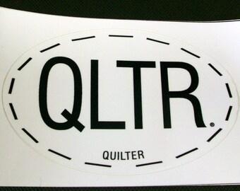 Quilter Sticker