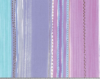 Chamomile in Purple ...  Meadow by Dena Designs ... Your choice of cut .. Purple colorway