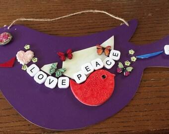 Purple Birdie of Love