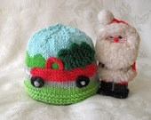 Baby Hat Knitting Knit Baby Hat Knitted baby hat Baby Beanie Knitted Truck Hat cotton knitted  baby hat - CHRISTMAS TREE DELIVERY