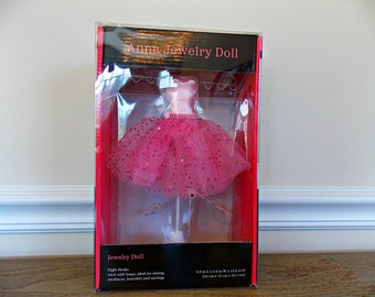 Jewelry Holder, Supplies, Display, Jewelry Display, Ballet, Necklace Holder, Pink, Jewelry Doll, Bracelet, Earring, Accessory, Organizer