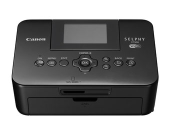 Canon SELPHY CP900 Black Wireless Color Photo Printer perfect for scrapbooking December Dailys weekly planner pages photos pictures cards