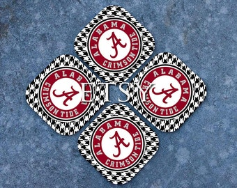 Roll Tide University of Alabama Coasters