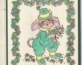 St.Patrick Day Bunny