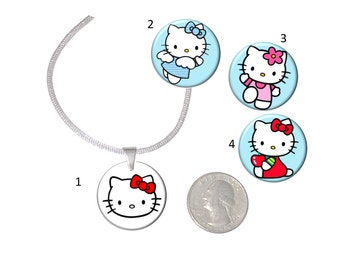 Choice of Kitty Necklace  Adorable Girls Necklace