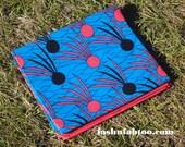 West African Wax Cotton Print Fabric - African Ankara Fabric - Badminton