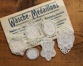 Washing mark - Wäsche Médaillons - Médaillons pour Lingerie - Medaglioni per biancherie monogram embroidered initial collection B