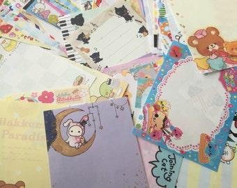 50 loose mini kawaii memo sheets