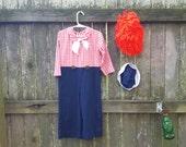 70s Raggedy Andy Costume/ Vintage Costume/ 70s Costume / Kids Costume / Boys Costume
