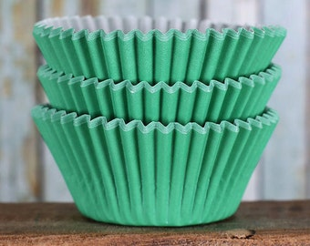 Green Cupcake Liners, BakeBright Cupcake Liners, Christmas Cupcake Liners, St Patrick's Day Cupcake Liners, Baking Cups, Cupcake Cases