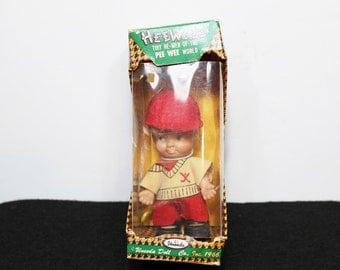 1966 Vintage Doll Pee Wee Hee Wee Golfer - Uneeda