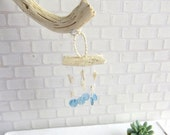 Wind chime with shells for dollhouse in 1:12 scale