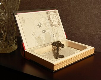 Hollow Book Safe (The Black Tower)