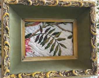 "Vintage Wood and Composition Frame 2"" Deep Inner Frame For Painting Or Portrait FREE Ship"