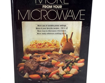 Microwave Cookbook. More from Your Microwave. Vintage Better Homes & Gardens Cookbook. 1980. Recipe Book. How to Cook with a Microwave.
