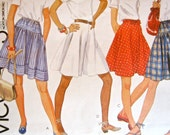 McCall's 8463 Skirts and Culottes Patterns Miss Size 8