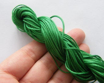 25 Meter green nylon string