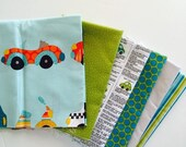 SuperBowl Sale Discontinued fabric from Kellie Wulfsohn for Riley Blake, Peak Hour -Half Yard bundle 6 total