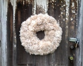 Large Snowball Wreath