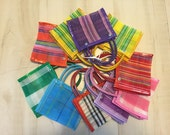 100 Mini Mexican Mercado Tote Bag Party Favor Gift Bags