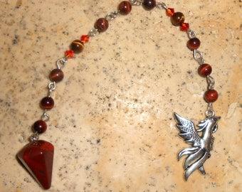 Brecciated Jasper Pendulum P2043