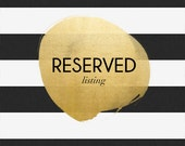 Reserved Listing for Crystal Hall