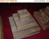 on sale barn wood Cupcake stand / rustic cupcake stand / wedding reception / Cake stand / table centerpiece / wedding decorations / birthday