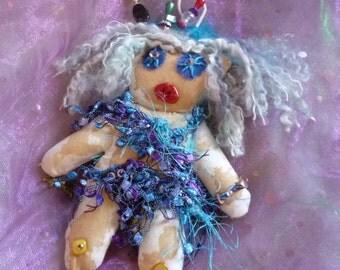 Voo Doo Doll, Voodoo Dol, Goth Doll, Art Doll by gothB4play