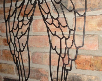 angel wings wall decor  etsy, Garden idea