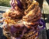 Golden Royal  HandSpun and Hand Dyed Yarn