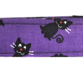 Little Black Cats - Halloween Dog Collar