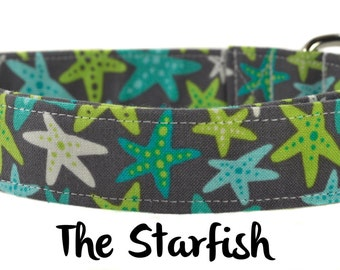 Beachy Dog Collar - The Starfish