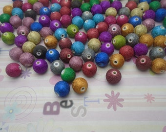 20pcs mix color around 15mmx15mm Acrylic Beads with 2.5mm Hole