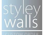 Custom listing for Denise K.