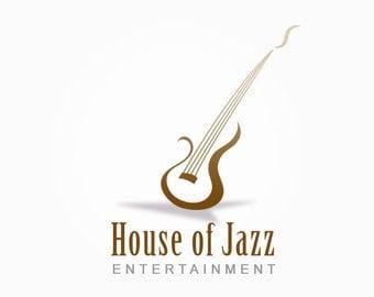 Premade Logo, Guitar Logo, Logo Design, Photography Logo, Business Logo, Musical Logo, Watermark, Sound Logo, Music, Guitar, Branding, .