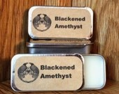 Blackened Amethyst Solid Perfume Balm