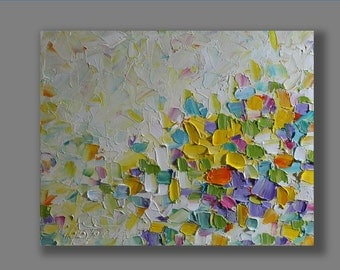 Abstract Painting Abstract Oil Painting  Oil Art Original Abstract Artwork Palette Knife  Modern Art Gifts for Her  Painting by Mirjana